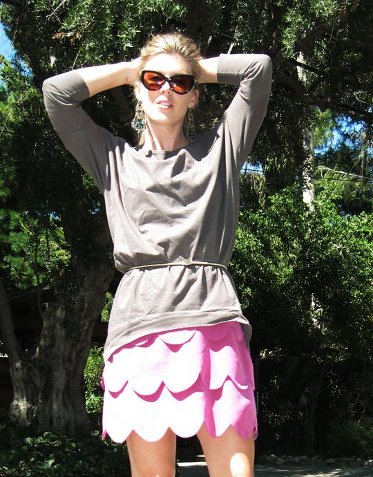 AKA NY scallop dress+Juma+Calvin Klein shoes-4