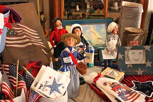 patriotic display