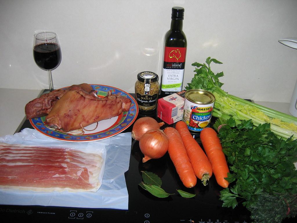 Ham Hock Terrine - The Ingredients