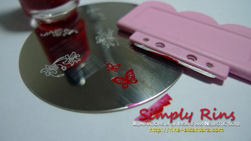 Konad Stamping Nail Art 015