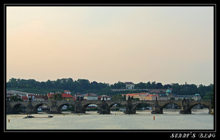 Charles Bridge from afar