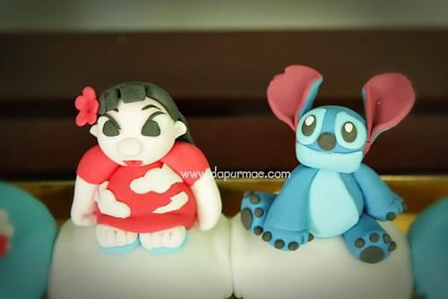 Lilo Stitch Cupcakes