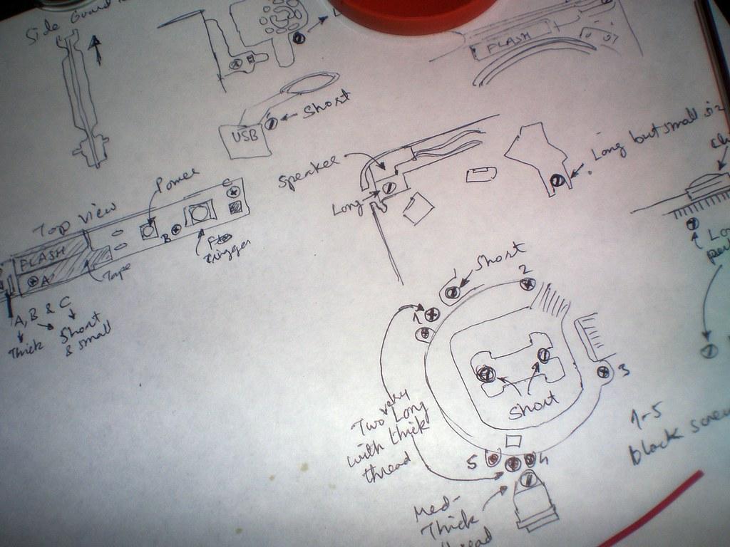 Camera repair manual
