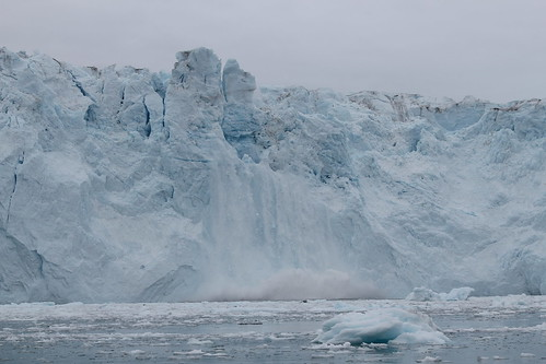 Eqip Glacier, calving