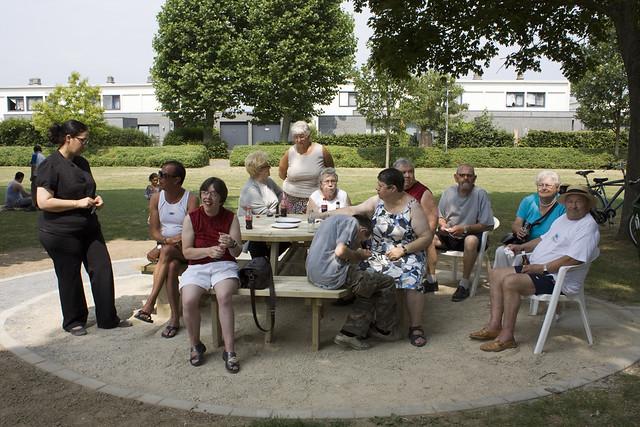 Inhuldiging publieke bbq Albert Dejongheplein