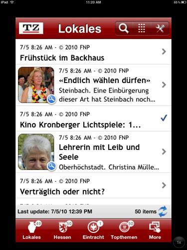iphone app frankfurte neue presse