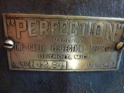 Caille Perfection farm engine - Help with drawings or parts