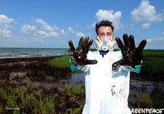 Greenpeace BP Deepwater Disaster picture
