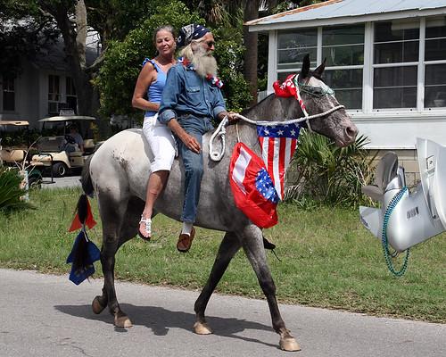 Clamerica Parade Ride