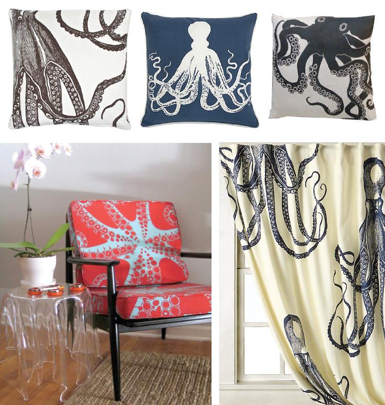 Octopus interiors