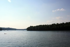Canoeing at Summersville Lake