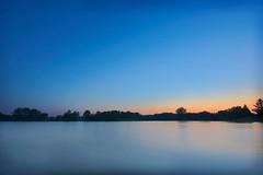 Twilight's last gleaming (spaceamoeba) Tags: blue sunset lake rebel pretty dusk columbia tones 1022