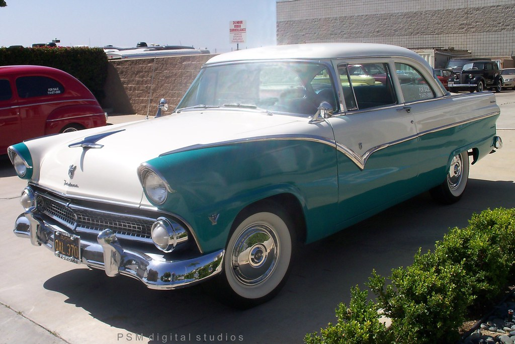 1955 Ford Fairlane Club Sedan For Sale
