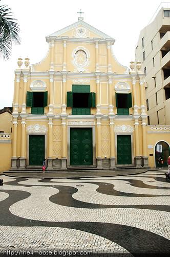 Macau - Igreja de São Domingos