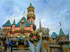 Disneyland 50th Anniversary Castle (Pyrat Wesly) Tags: disneyland 50thanniversary