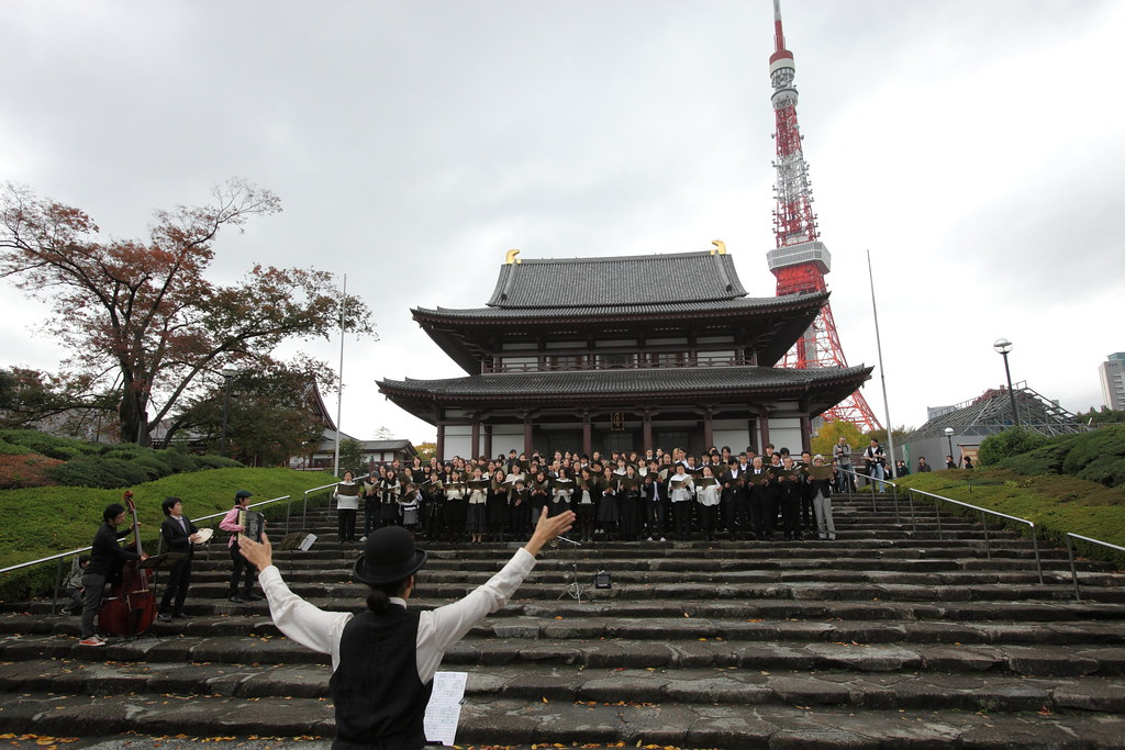 Complaints Choir of Tokyo in 2009