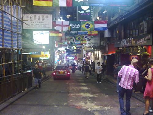 蘭桂坊in香港