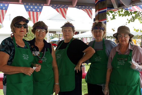 Cedar Key Woman's Club Stands Ready for the Masses