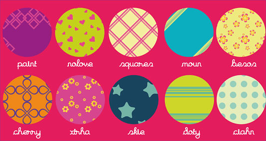 Motivos - Patterns para Illustrator