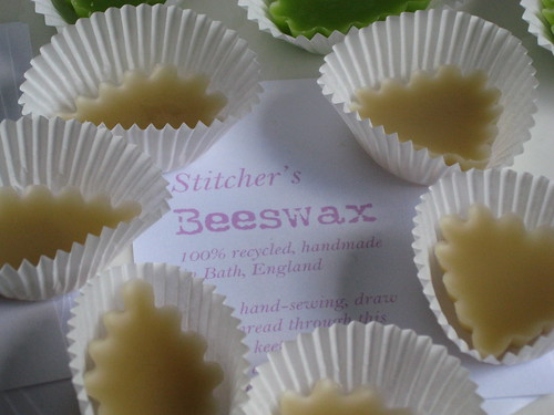 Beeswax cupcakes