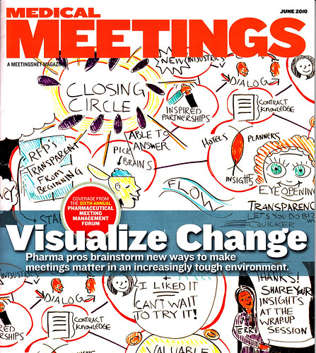 Medical Meetings Magazine Cover--Jonny Style