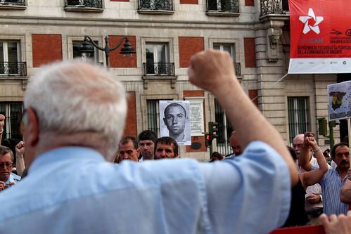 Concentración contra la impunidad del Franquismo (08/07/2010)