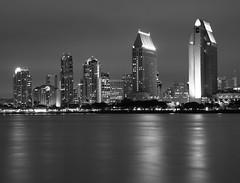 Downtown San Diego in black and white (San Diego Shooter) Tags: sandiego downtownsandiego sandiegocityscape thepinnaclehof downtownsandiegoinblackandwhite sandiegoskylineinblackandwhite sandiegoinblackandwhite tphofweek54