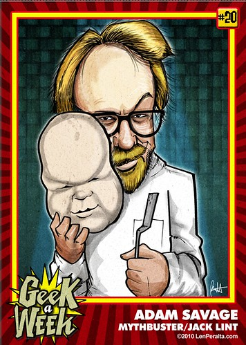 Geek A Week Challenge: #20: Adam Savage