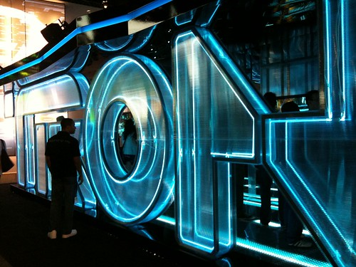 Tron Booth