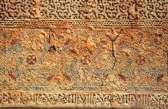 Fresken im Generalife, Alhambra, Andalusien