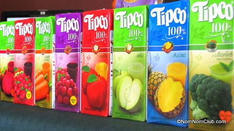 Tipco 100% Fruit Juices 200ml