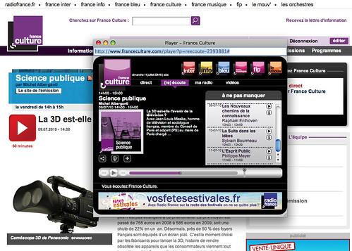 3d FranceCulture