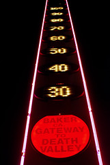 The Great Thermometer In Baker, California - G...
