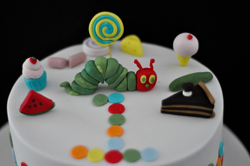 HUNGRY CATTERPILLAR CAKE