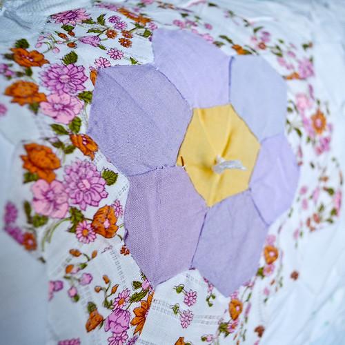 Hexagon Quilt by Aunt Ada