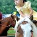 Alice Liu on a pony