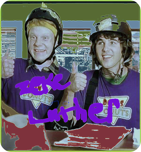 zeke and luther logo. ZEKE AND LUTHER. i love them who else doez??:)