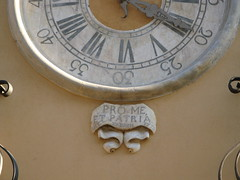 """1775 """"For Me and the Fatherland"""" (Normann) Tags: italy building clock sicily date trapani 1775 fatherland"""