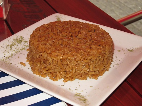 Rice with coconut.
