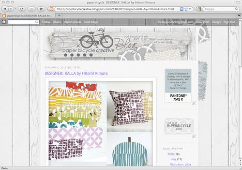 PaperBicycleBlog