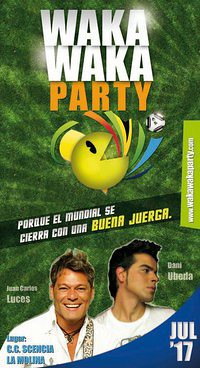 Waka Waka Party - C.C. Scencia