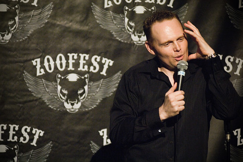 Bill Burr, but not at Helium