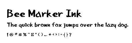 bee marker ink