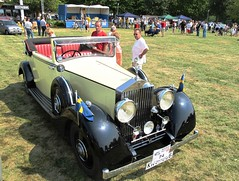 Classic Car show in Mariestad Sweden #10