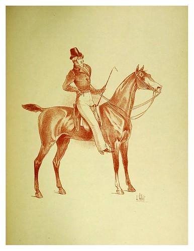 022-Pantalon de montar a la cosaca 1817-Le chic à cheval histoire pittoresque de l'équitation 1891- Louis Vallet