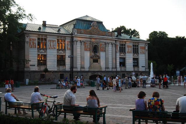 le Palais des Arts - place Szczepanski