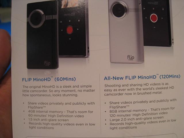 2 Versions Of Flip MinoHD