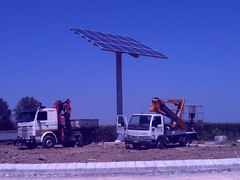 vela fotovoltaica