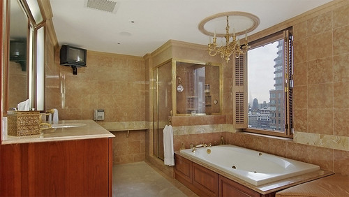 4796878586 e4a31edeea Rush Limbaugh's Penthouse Bathroom – Design Review