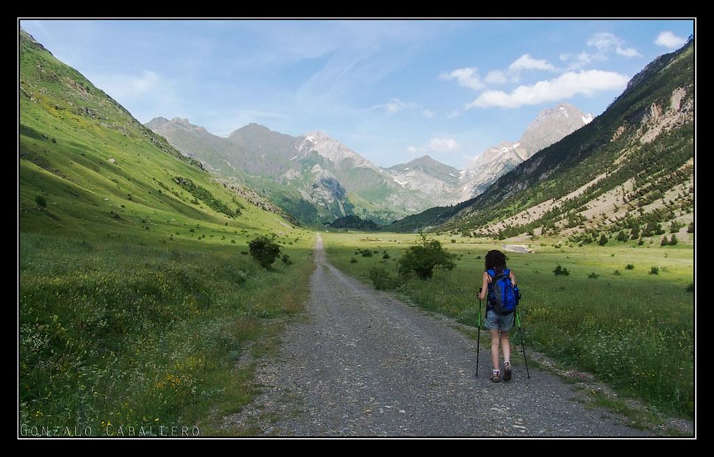 Regresando por el Valle de Otal